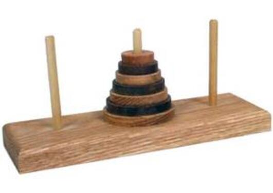 Towers of Hanoi.