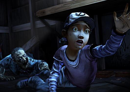 Bilde fra spillet The Walking Dead