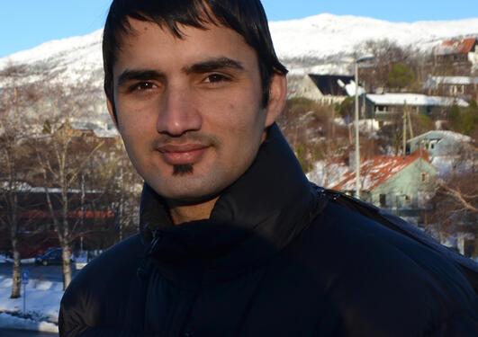 Master student Til Prasad Pangali Sharma.
