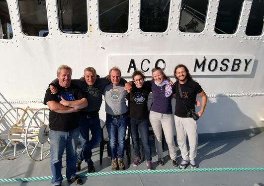 Crew on Mosby