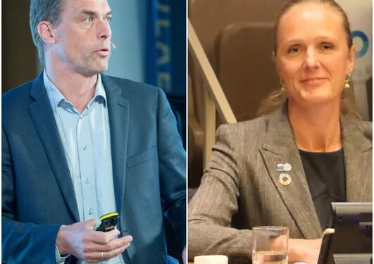 Tore Furevik og Inger Elisabeth Måren