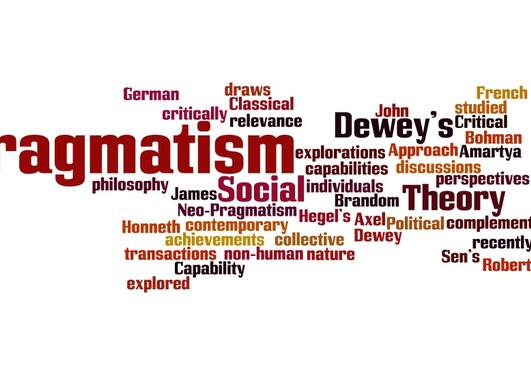 wordcloud on pragmatism