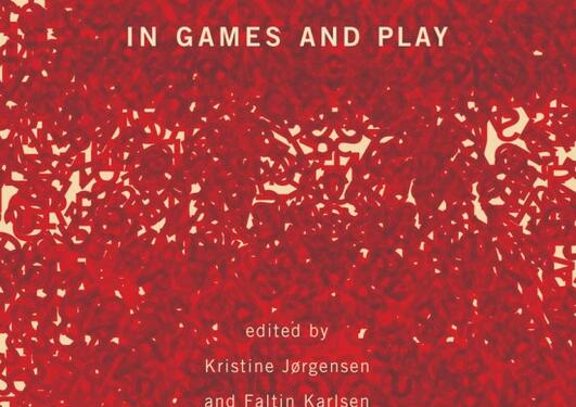 "Forsiden til boka ""Transgression in Games and Play"""