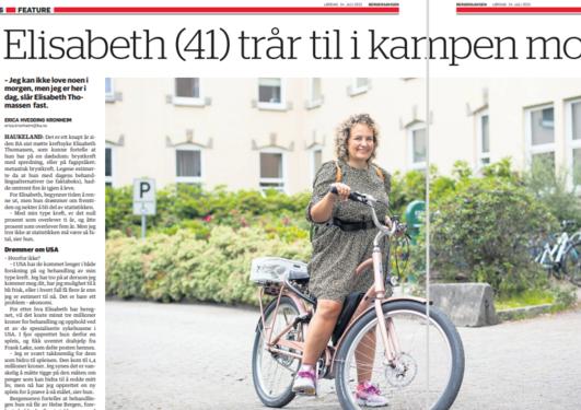Bergens avisen 24 juli 2021