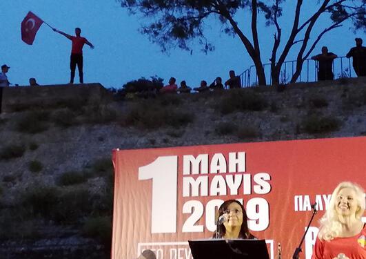 Demonstrant i Tyrkia