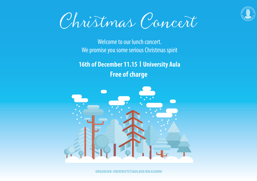 Christmas concert, UiB Alumni, University Aula
