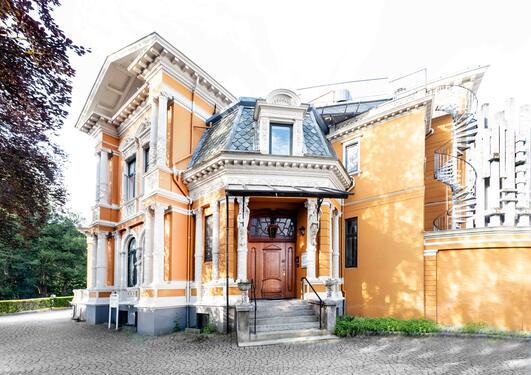 Ida Bloms hus, side entrance