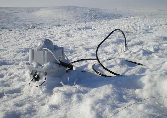 Sercel Unite Node på snø