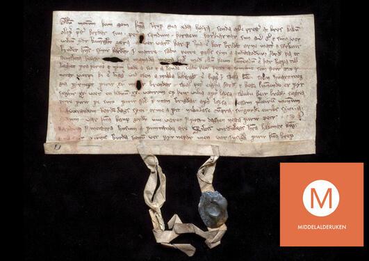 Diplom datert Bergen 21. februar 1314