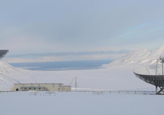 Ny-Ålesund forskningsstasjon