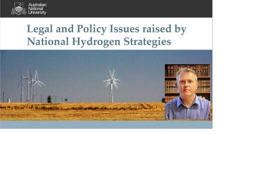 Australian Hydrogen Strategy - James Prest