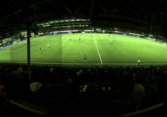 Example of a high-quality panorama soccer video