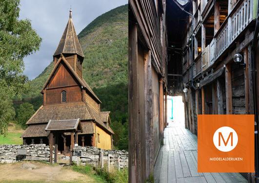 Urnes stavkirke og Bryggen i Bergen