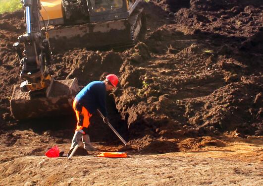 Utgraving Boahagen Stryn