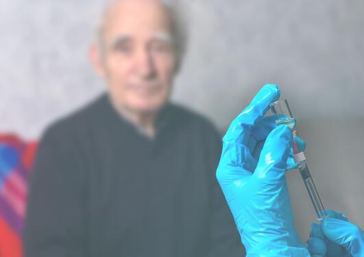 vaksinering eldre