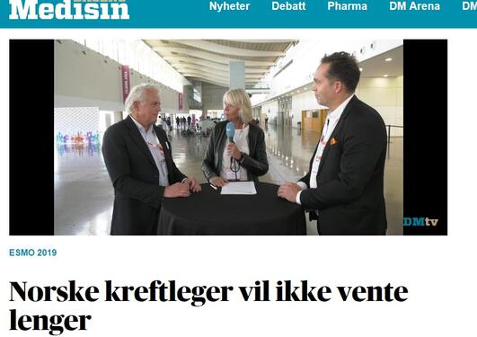 Norske kreftleger vil ikke vente lenger
