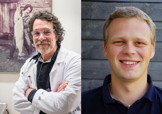 Professor Dickstein og professor Vikse