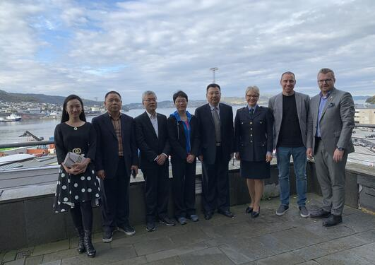 Visit from the Shanghai Municipial Bureau of Justice