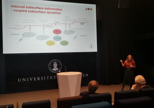 Presentation by I. Berre of the core motivaton for VISTA CSD research