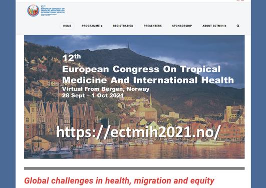 ECTMIH2021 website