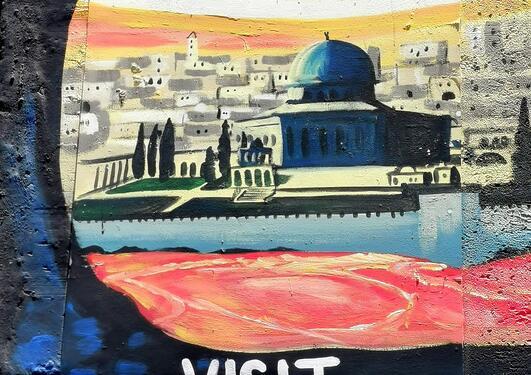 Visit Palestine plakat