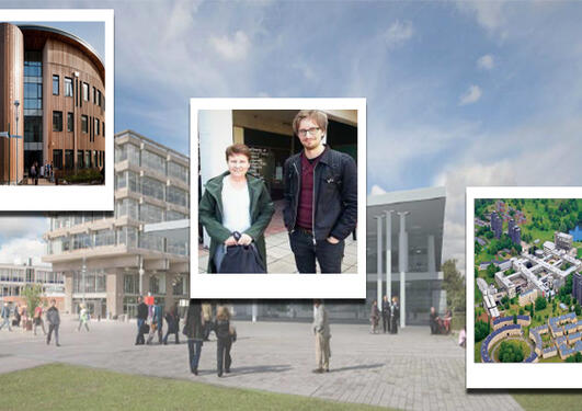 Bilder av University of York og Essex