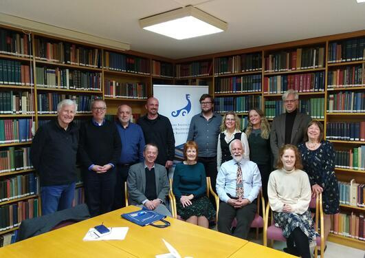 Gruppebilde fra forskergruppens workshop i Athen, februar 2020