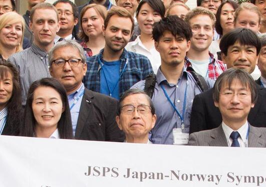 The Japanese-Norwegian meeting attracted scientists from all over Norway and Japan.