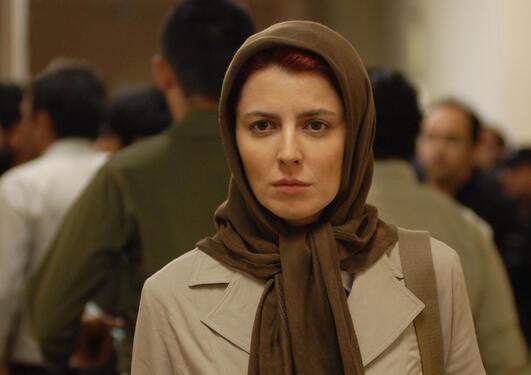 """Simin (Leila Hatami) i filmen """"Nader og Simin: Historia om eit brudd"""". Filmen..."""