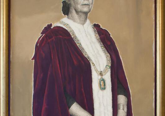 Svein Bolling: Portrett av Kirsti Koch Christensen, 2005.