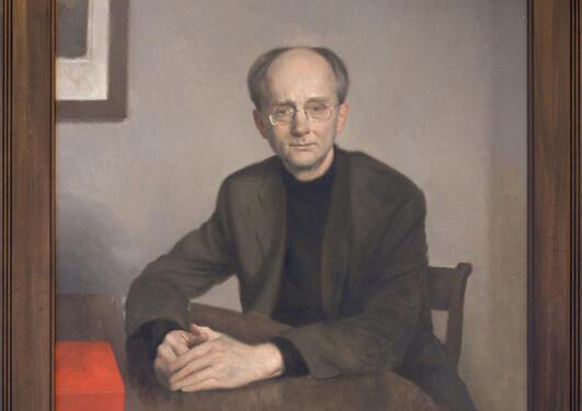 © Sverre Koren Bjertnæs / BONO: Portrett av Jan Fridthjof Bernt, 1999.