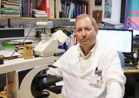 Lars A. Akslen ved Gades institutt har startet kamp mot psykopatiske...