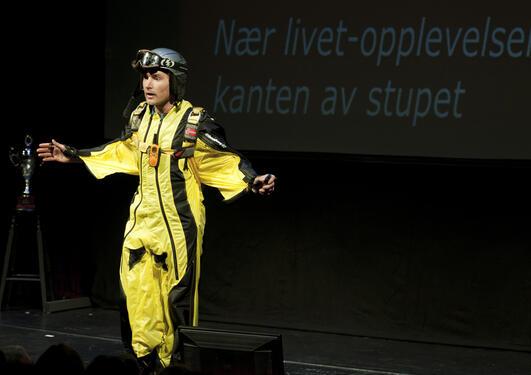 Audun Hetland ble årets beste forskningsformidler i Forsker Grand Prix...
