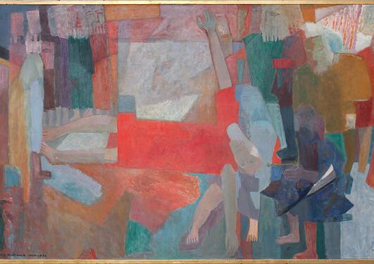 © Else Christie Kielland: Balders død, 1930-70.