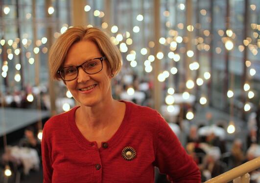 Anne Lise Fimreite, leder for programkomitéen for Christiekonferansen 2013