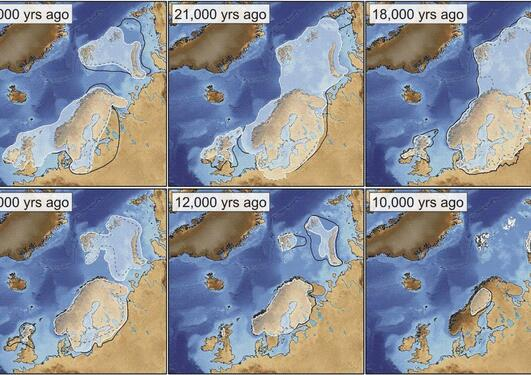 Scandinavian Ice Sheet during last glaciation
