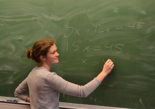 Anita Tindeland er en av mange ettertraktede lektorstudenter som...