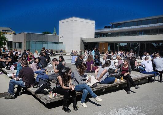 Bilde fra internasjonalt studentmottak august 2011, brukt i forhåndssak om...