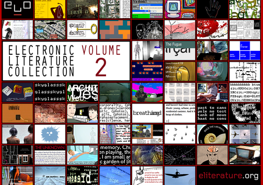 Forsiden av Electronic Literature Collection Volume 2 (http://collection...