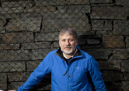 Eystein Jansen, leder for Bjerknessenteret, er svært fornøyd med at senteret...