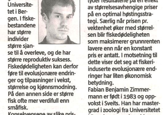Fabian in Bergens Tidene