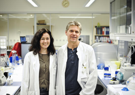 Torunn Fiskerstrand og Per Knappskog har forska på kronisk diare og Crohn's...