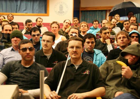 Visualiseringsgruppen ved Institutt for informatikk.