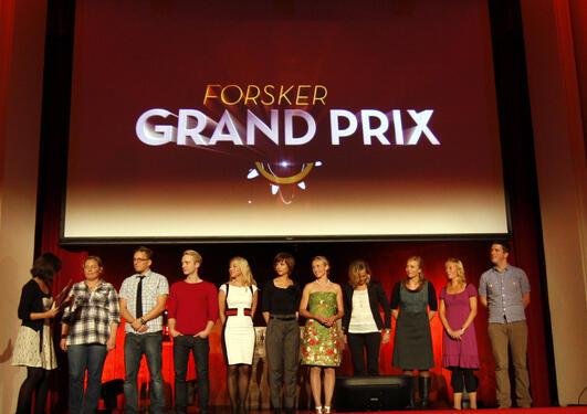 Bergensfinalen i Forsker grand prix 2010.