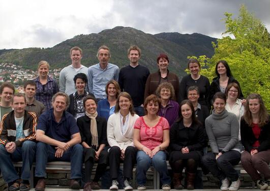 Forskergruppen ved Institutt for biomedisin.