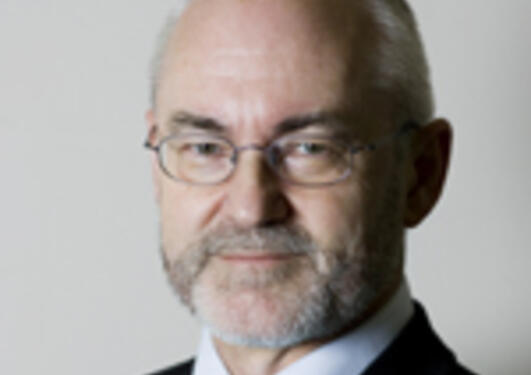 Sigmund Grønmo, sittende rektor og rektorkandidat ved UiB 2009
