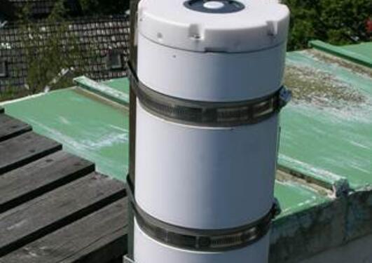 GUV-instrument from the Norwegian UV Network, measuring UVB radiation
