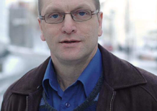 Instituttleder Hans-Tore Hansen ved Sosiologisk institutt.