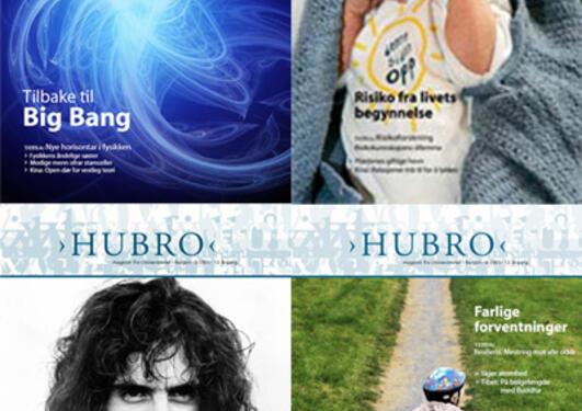 Forsidene til Hubro 2005