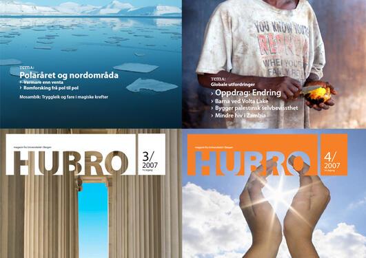 Alle utgavene av Hubro fra 2007